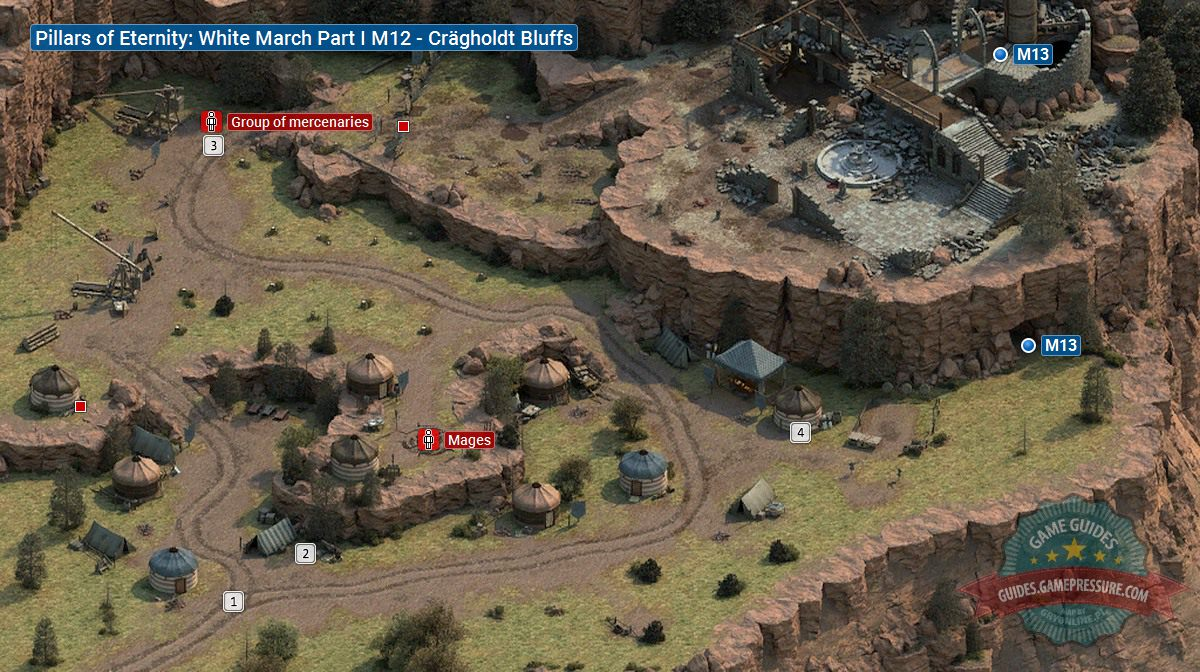 PoE White March Part I M12 - Cr�gholdt Bluffs