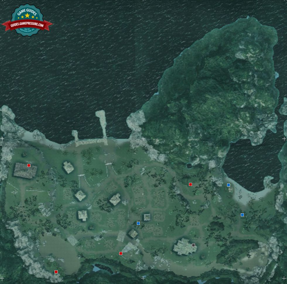 Map of Matanzas - Collectibles and important places - Assassin's Creed IV: Black Flag