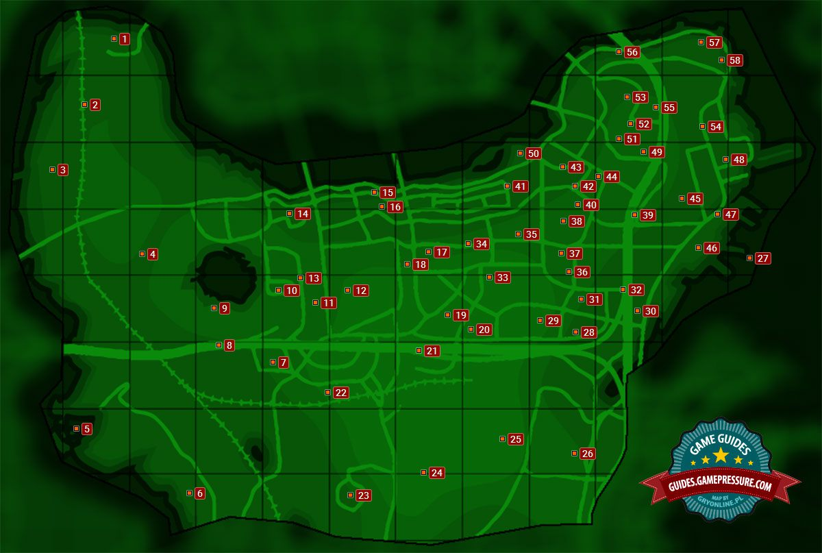 boston center map Map Of Center Of Boston Sector 6 Fallout 4 Game Guide boston center map