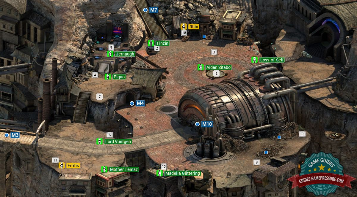 torment tides of numenera world map Cliff S Edge Map M6 Torment Tides Of Numenera Game Guide