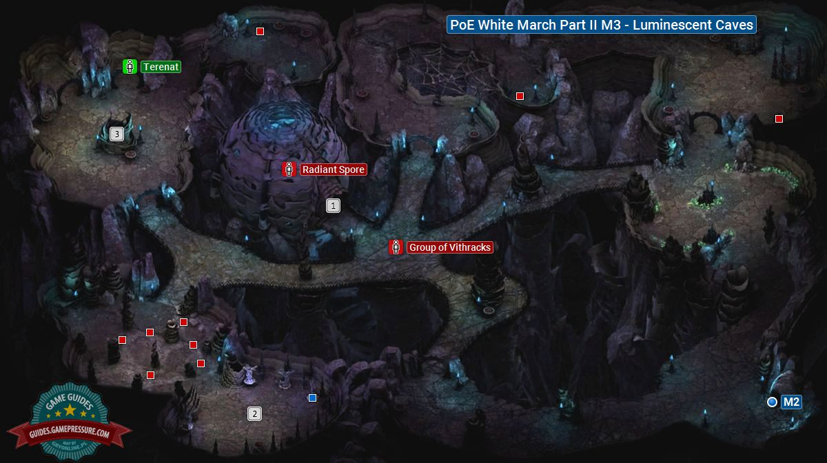 PoE White March Part II M3 - Luminescent Caves