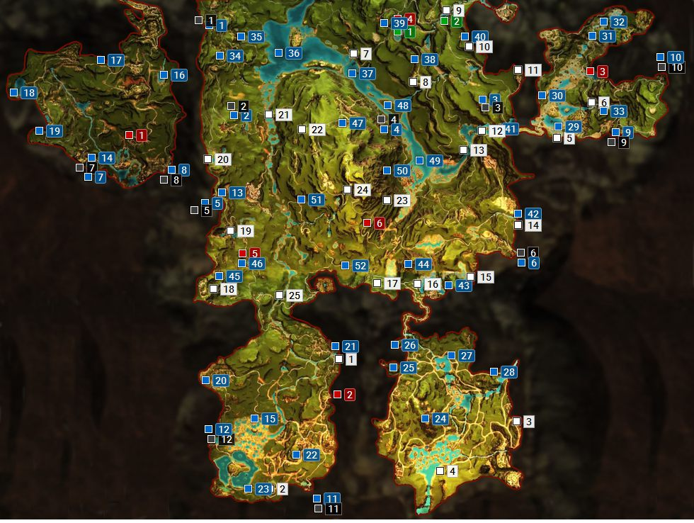 Full Map Of Far Cry Primal
