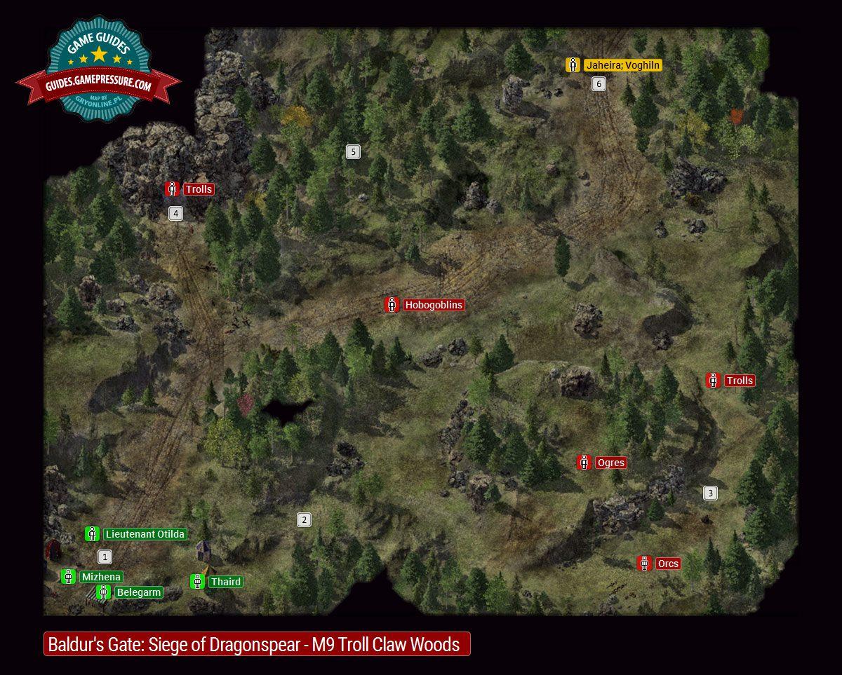 Map And Location Description M9 Baldur S Gate Siege Of