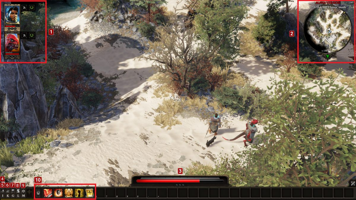 Game Interface | Basics - Divinity: Original Sin II Game Guide