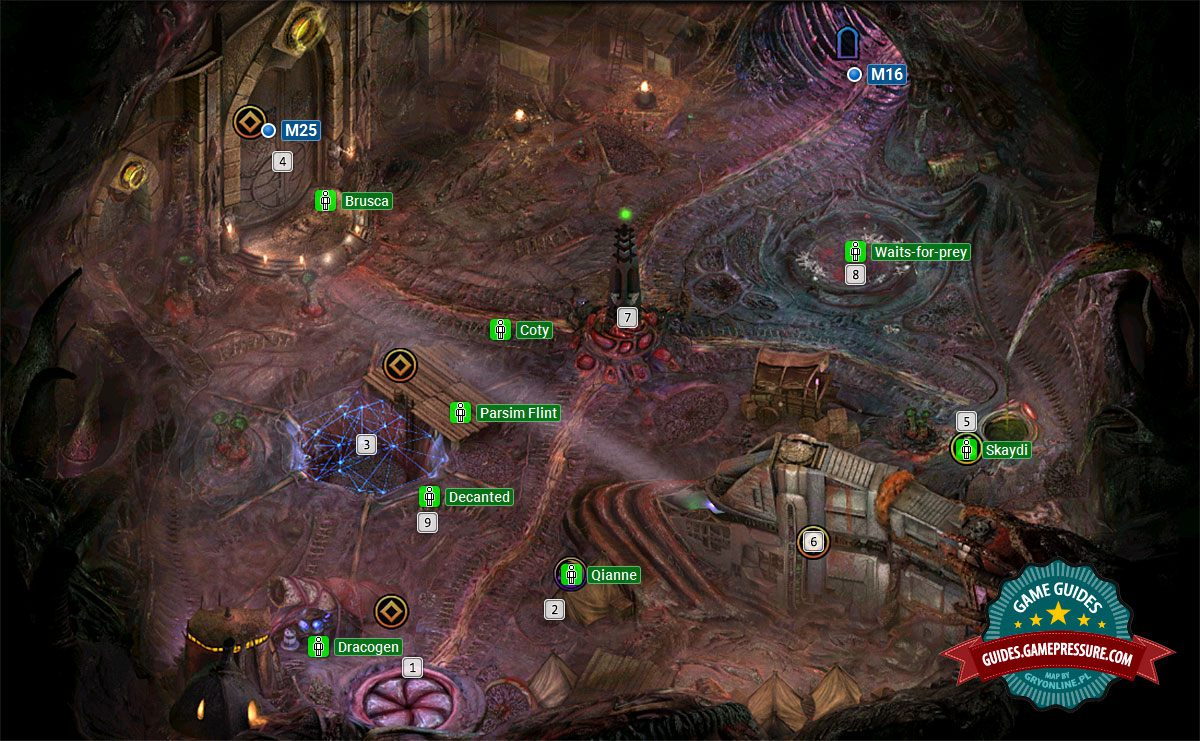 Torment: Tides of Numenera M15 - Bloom: Memovira's Courtyard