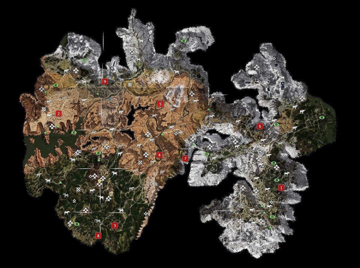 all cauldron locations
