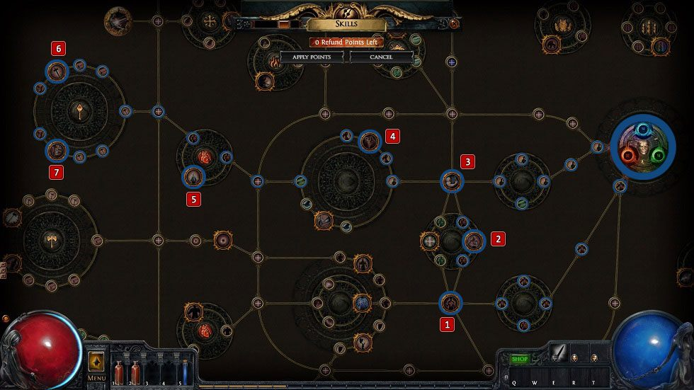 Path Of Exile  Handed Marauder Build