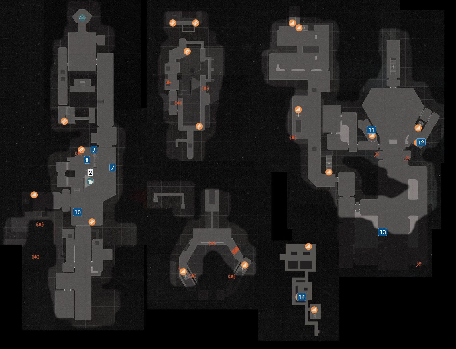 Wolfenstein 2 Subway Map.Secrets In Under Siege Mission 1 Reunion Wolfenstein Ii The