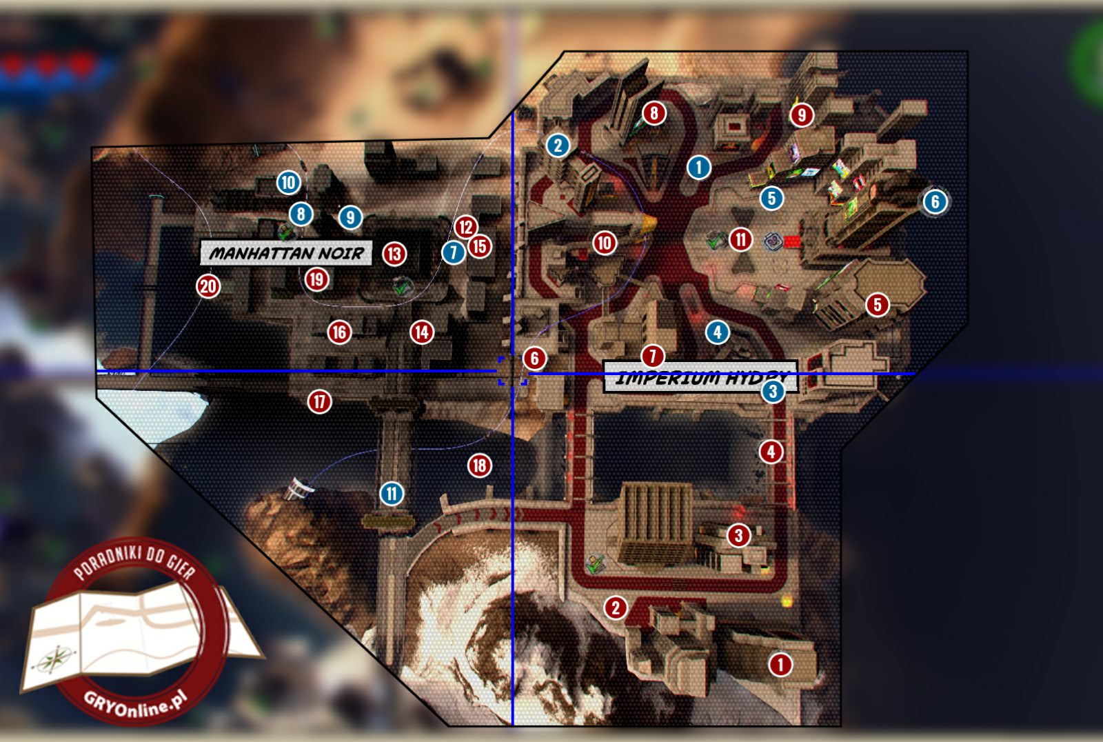 Hydra Empire And Manhattan Noir Maps Lego Marvel Super
