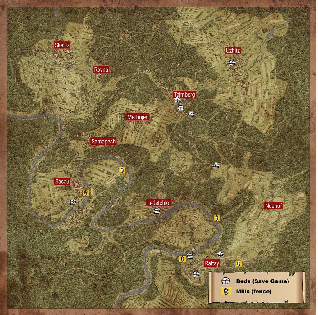 Kingdom Come Deliverance Opinión  Map_2122_1024