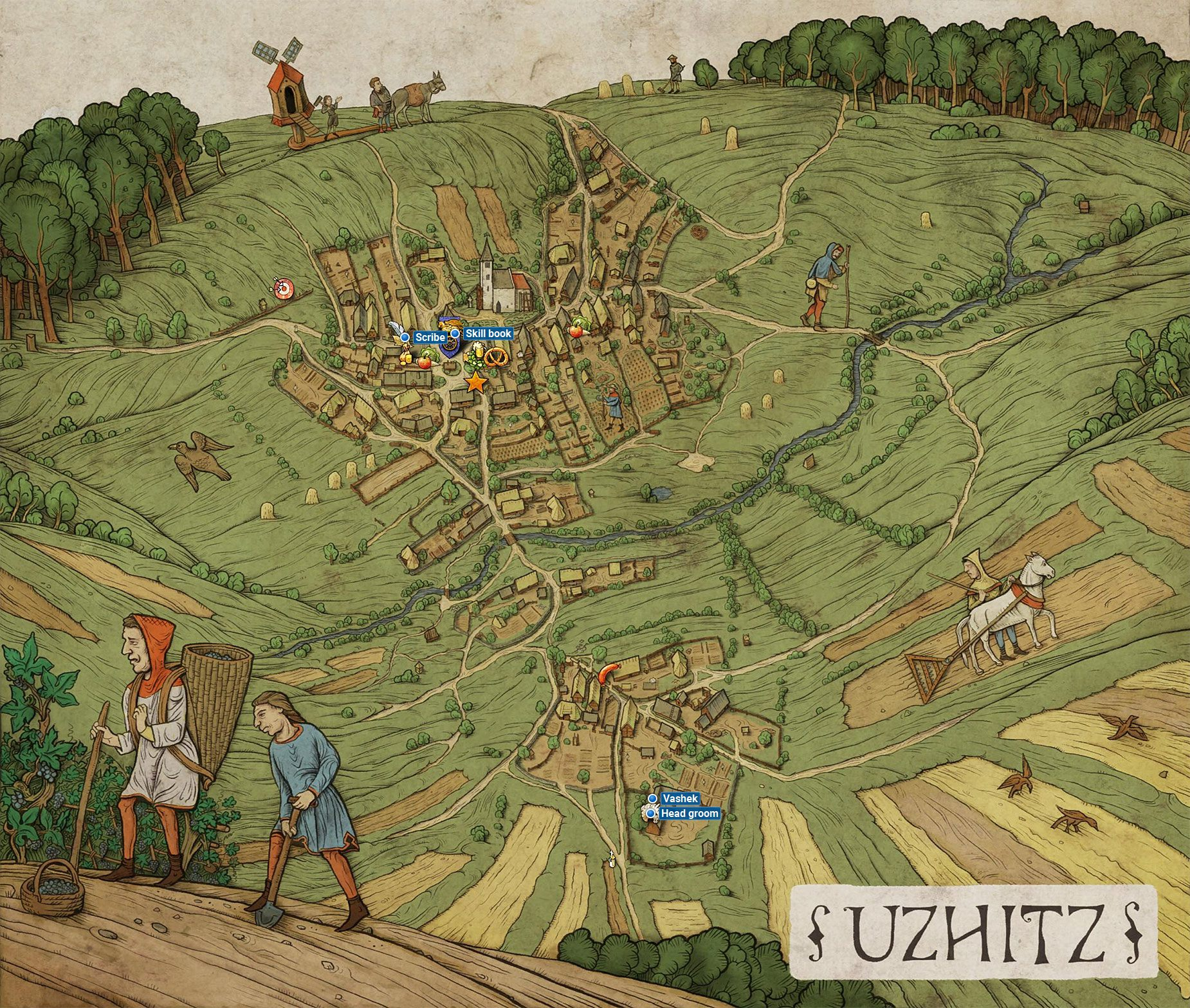 Kingdom Come Deliverance - Uzhitz