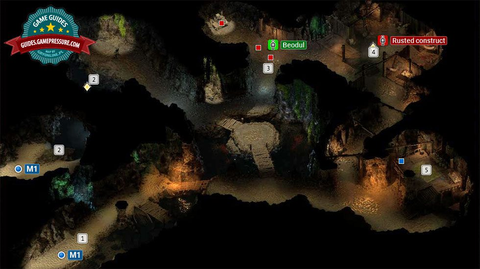 Pillars of Eternity 2 Deadfire M2 - Sea Cave
