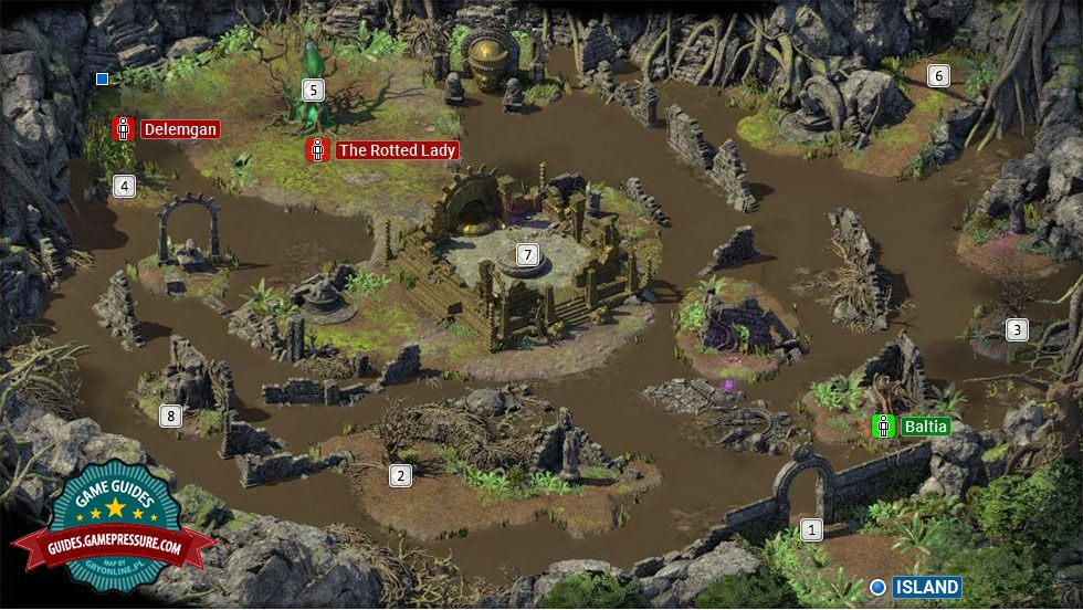 Mapa Pillars Of Eternity.Motare O Kozi Walkthrough And Map Pillars Of Eternity 2