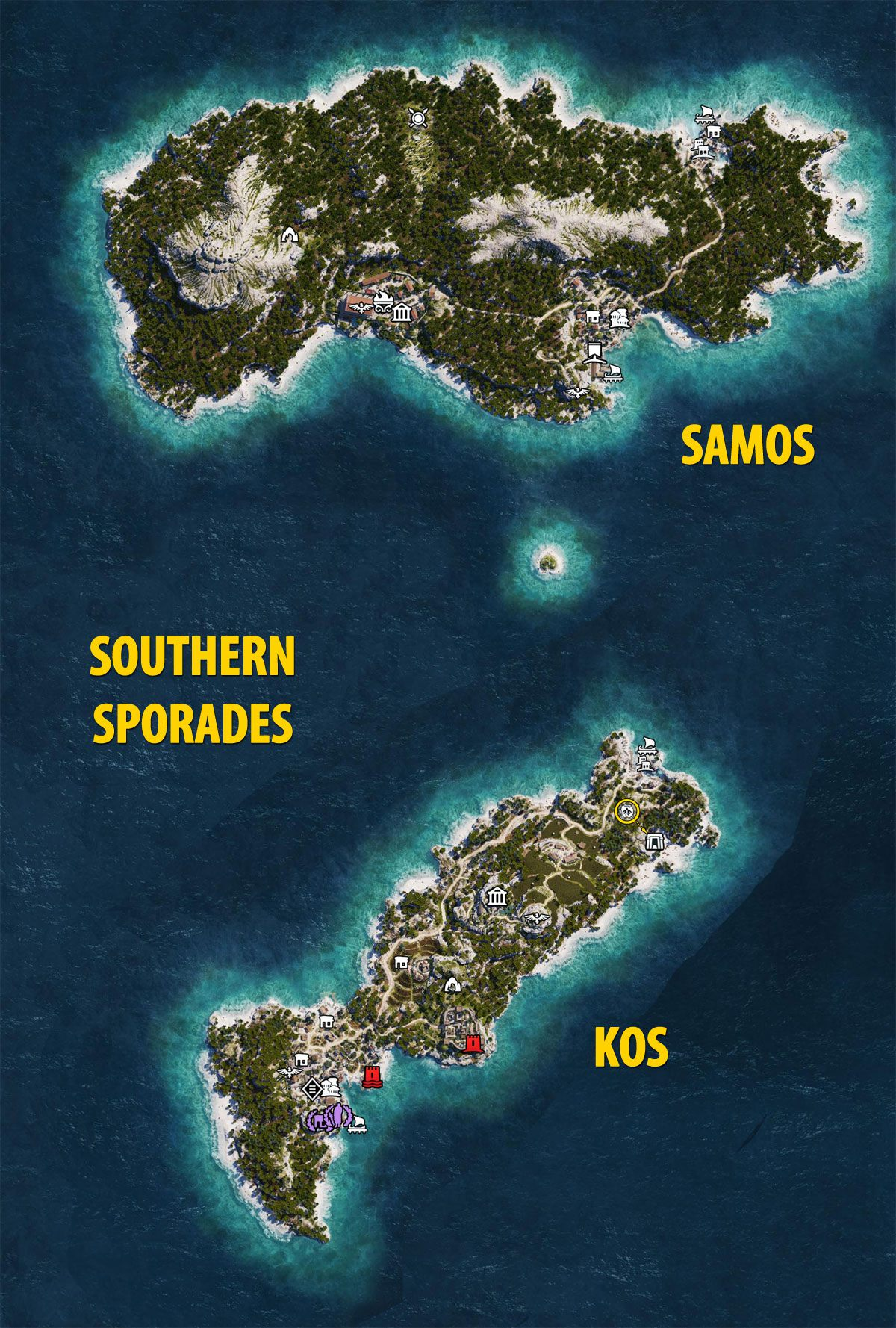 Southern Sporades - Assassin's Creed Odyssey