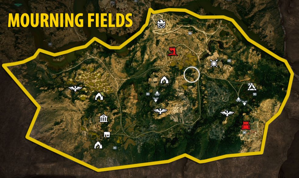 Mourning Fields Torment Of Hades Maps And Atlas Assassin S