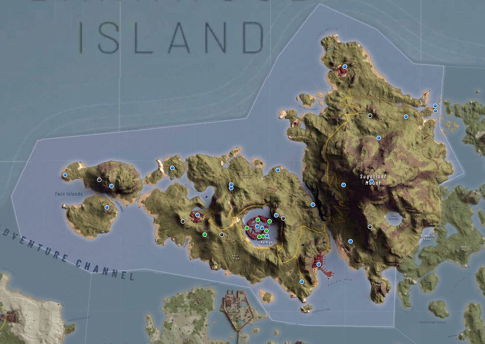 Ghost Recon Breakpoint - Cape North map