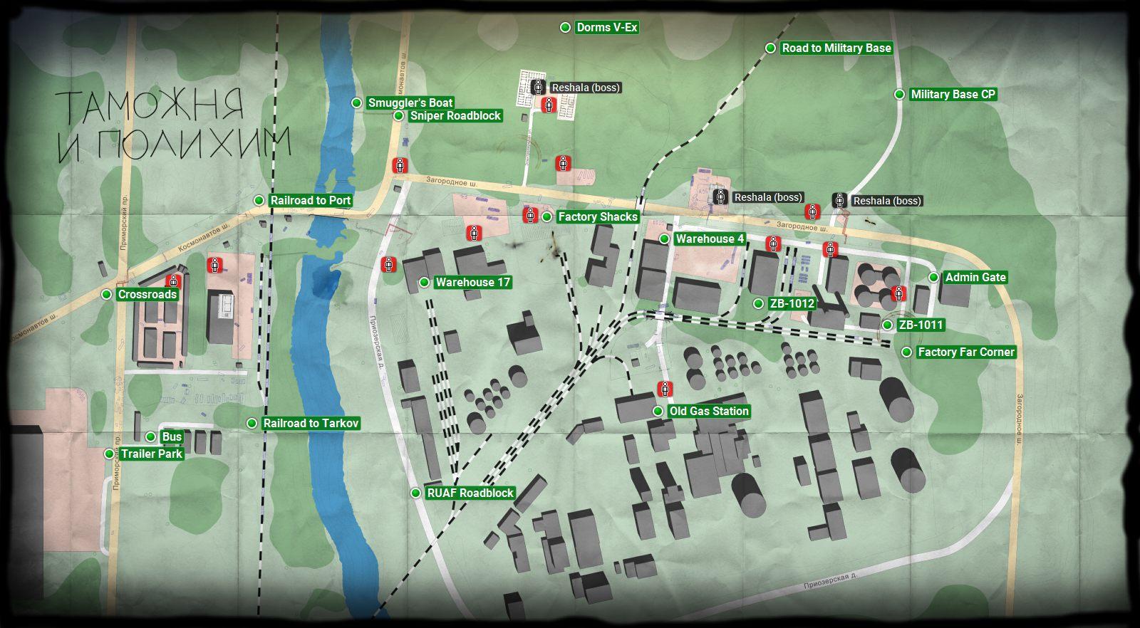 Customs Escape From Tarkov Maps Escape From Tarkov Guide Gamepressure Com