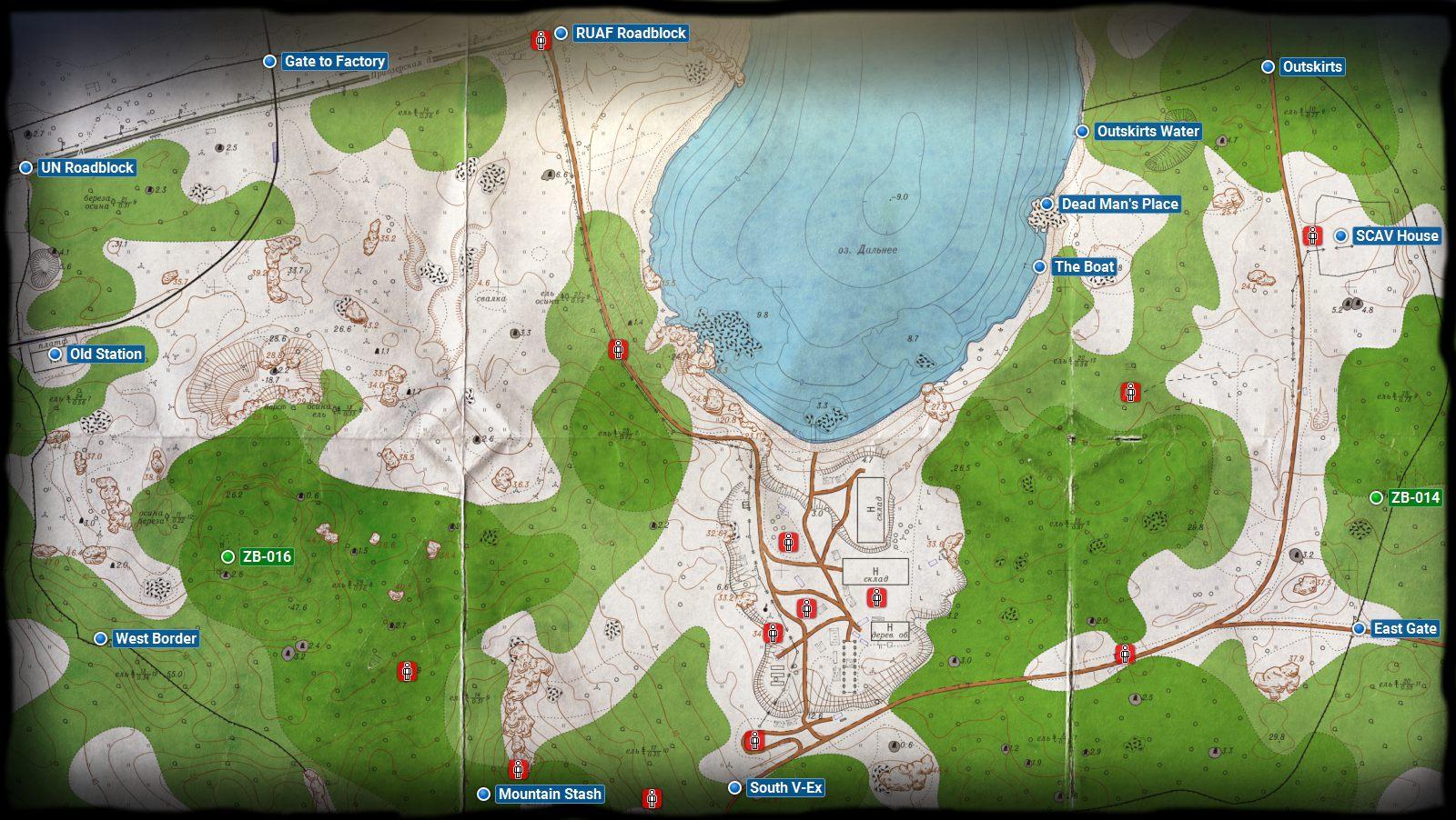 Woods Escape From Tarkov Maps Escape From Tarkov Guide Gamepressure Com