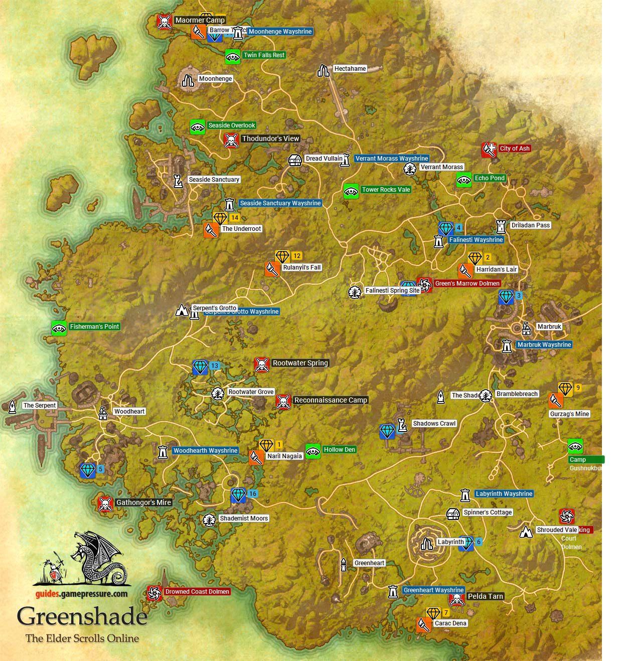 Greenshade | Aldmeri Dominion - The Elder Scrolls Online ...
