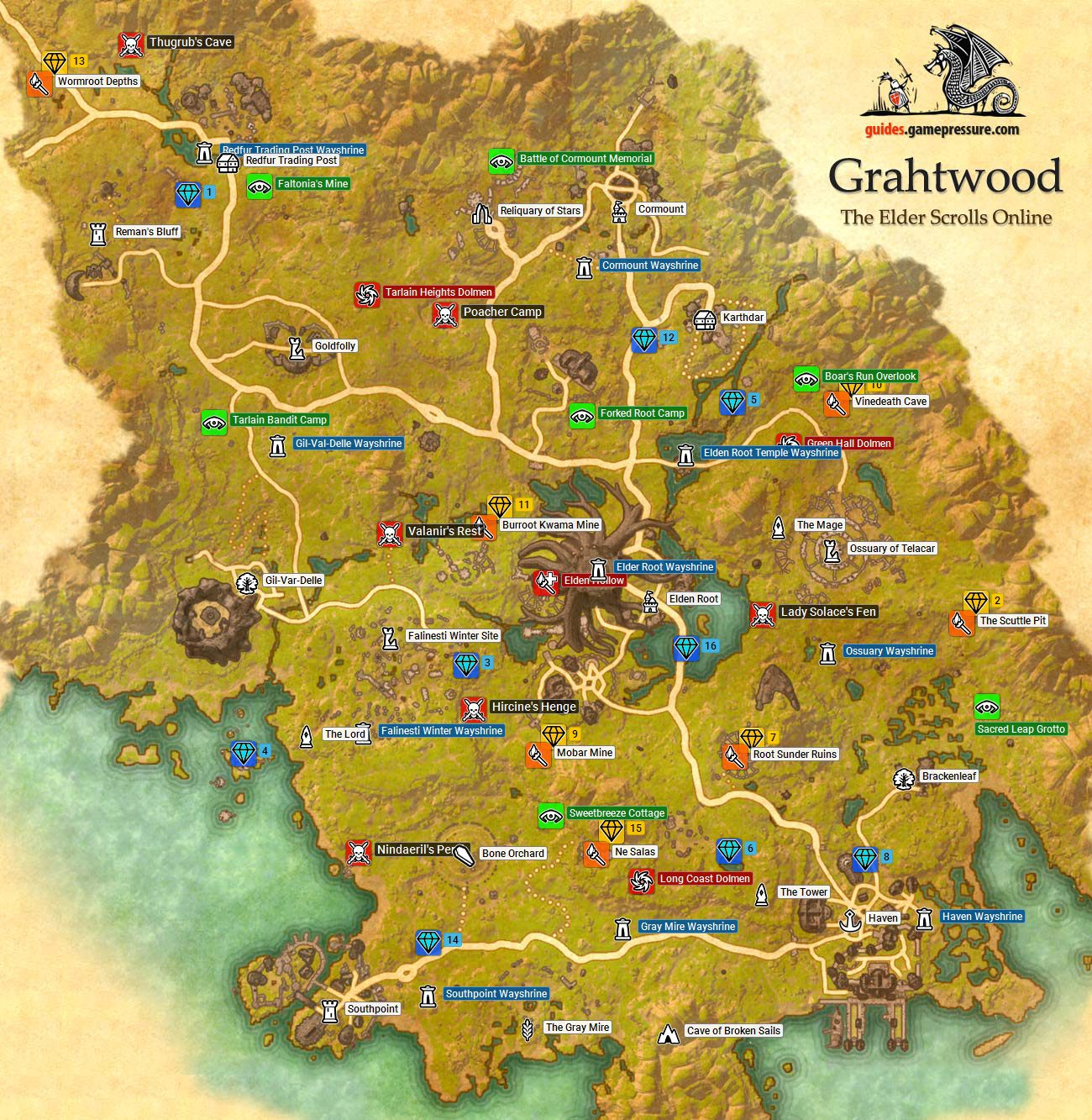The Elder Scrolls Online - Grahtwood