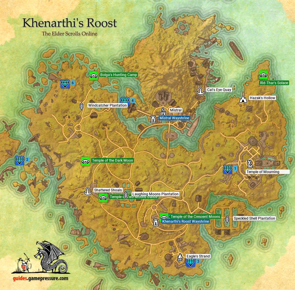 Khenarthi\'s Roost | Aldmeri Dominion - The Elder Scrolls Online Game ...