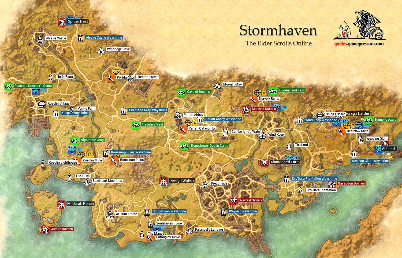 Stormhaven | Daggerfall Covenant - The Elder Scrolls Online ...