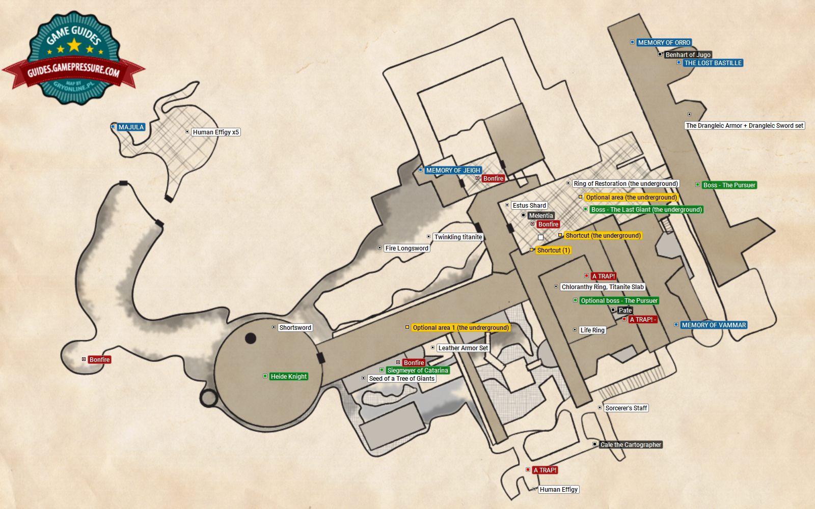 Forest Of The Fallen Giants (I) | Walkthrough - Dark Souls II Game on