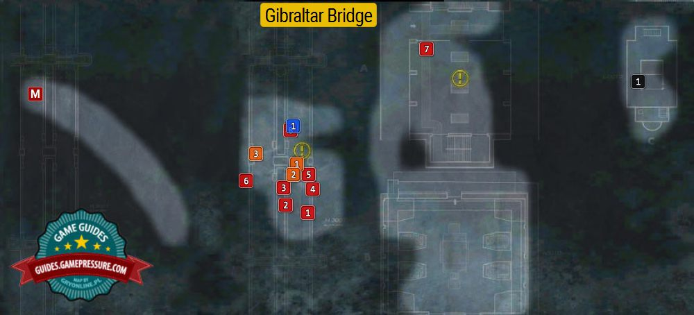 Gibraltar Bridge | Secrets - Wolfenstein: The New Order Game Guide