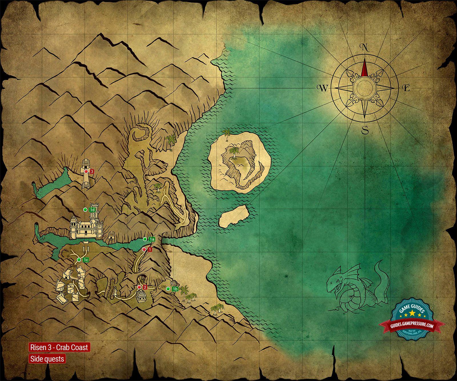 Risen Treasure Island