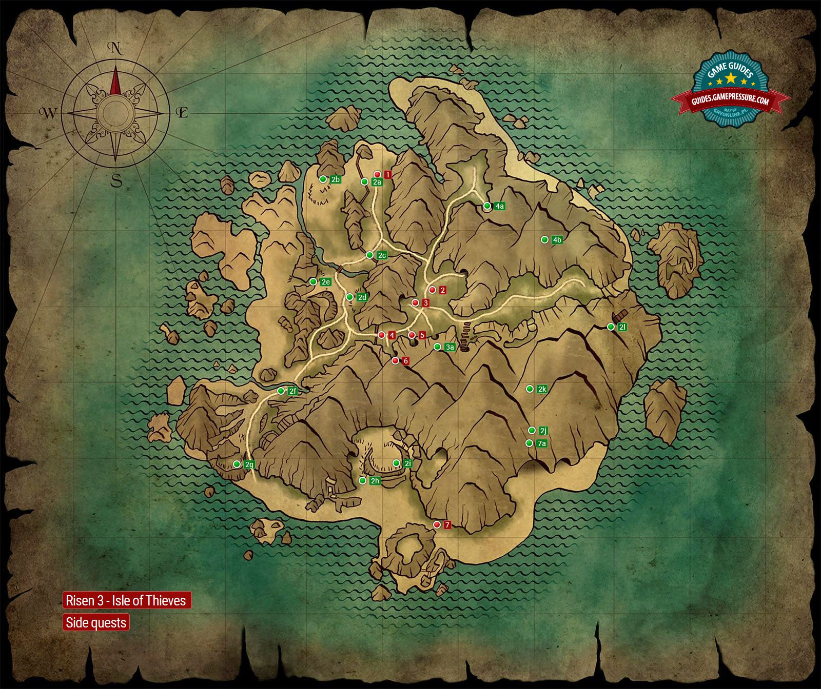 Map side quests isle of thieves risen 3 titan lords game risen 3 isle of thieves side quests gumiabroncs Gallery