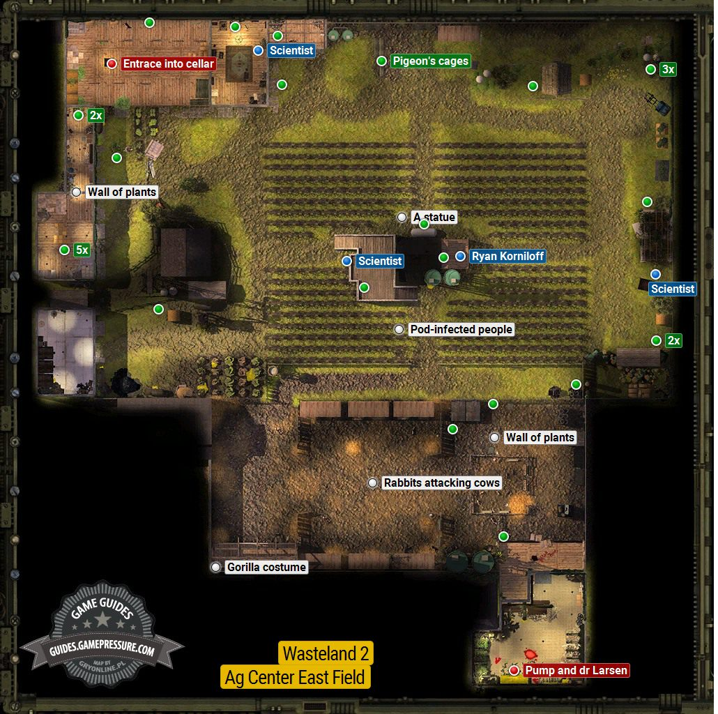 Wasteland 2 - Ag Center East Field