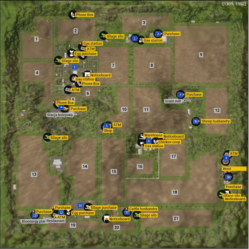 Farming Simulator 15 - Westbridge Hills Map