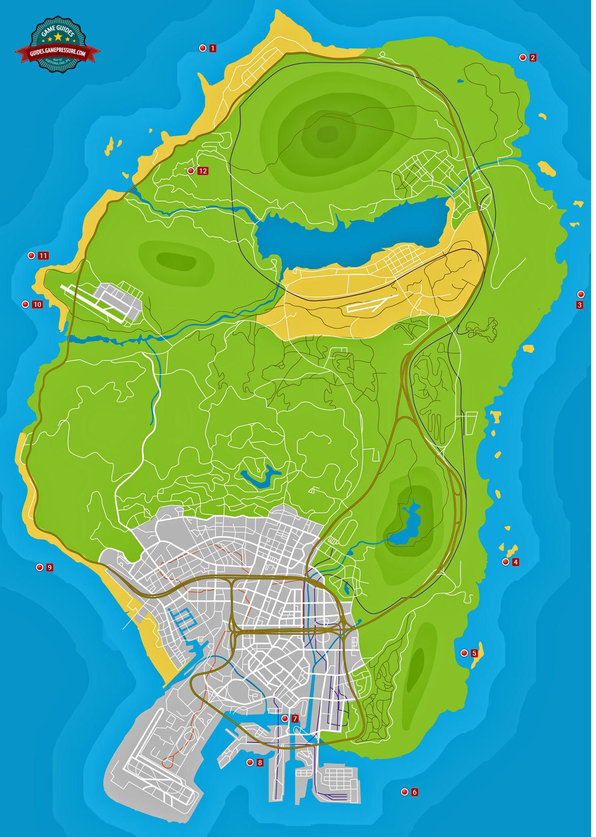 Hidden Packages - Grand Theft Auto V Game Guide | gamepressure com