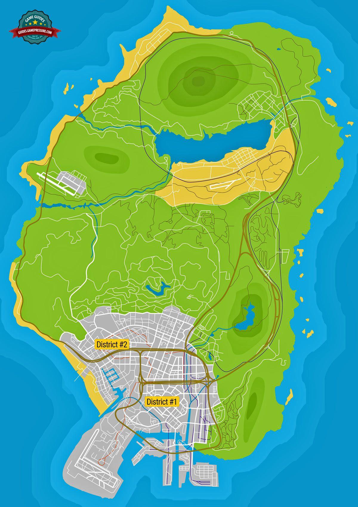 Где находится остров в гта