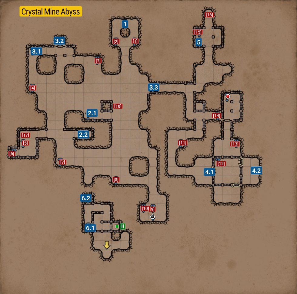 Grimrock  Island Map