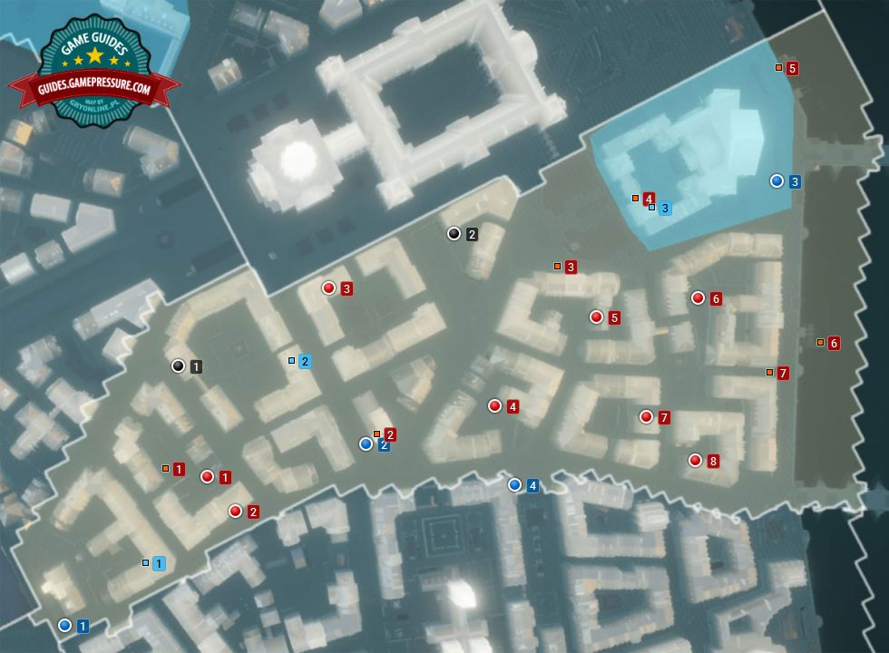 assassins creed unity cockades map location