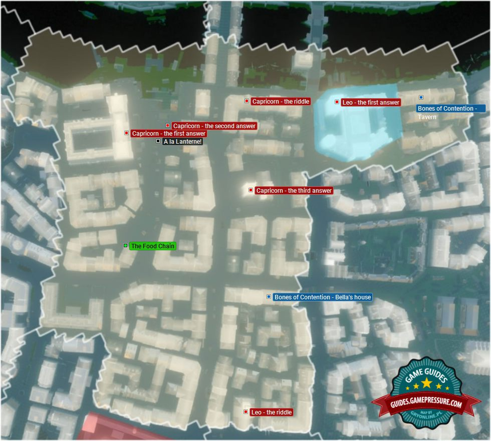Side Quests Hotel De Ville Map In Ac Unity Assassin S Creed