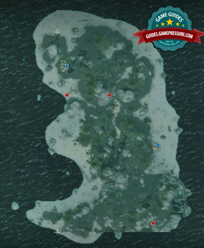 The Map of Salt Lagoon - Collectibles - Assassin's Creed IV: Black Flag