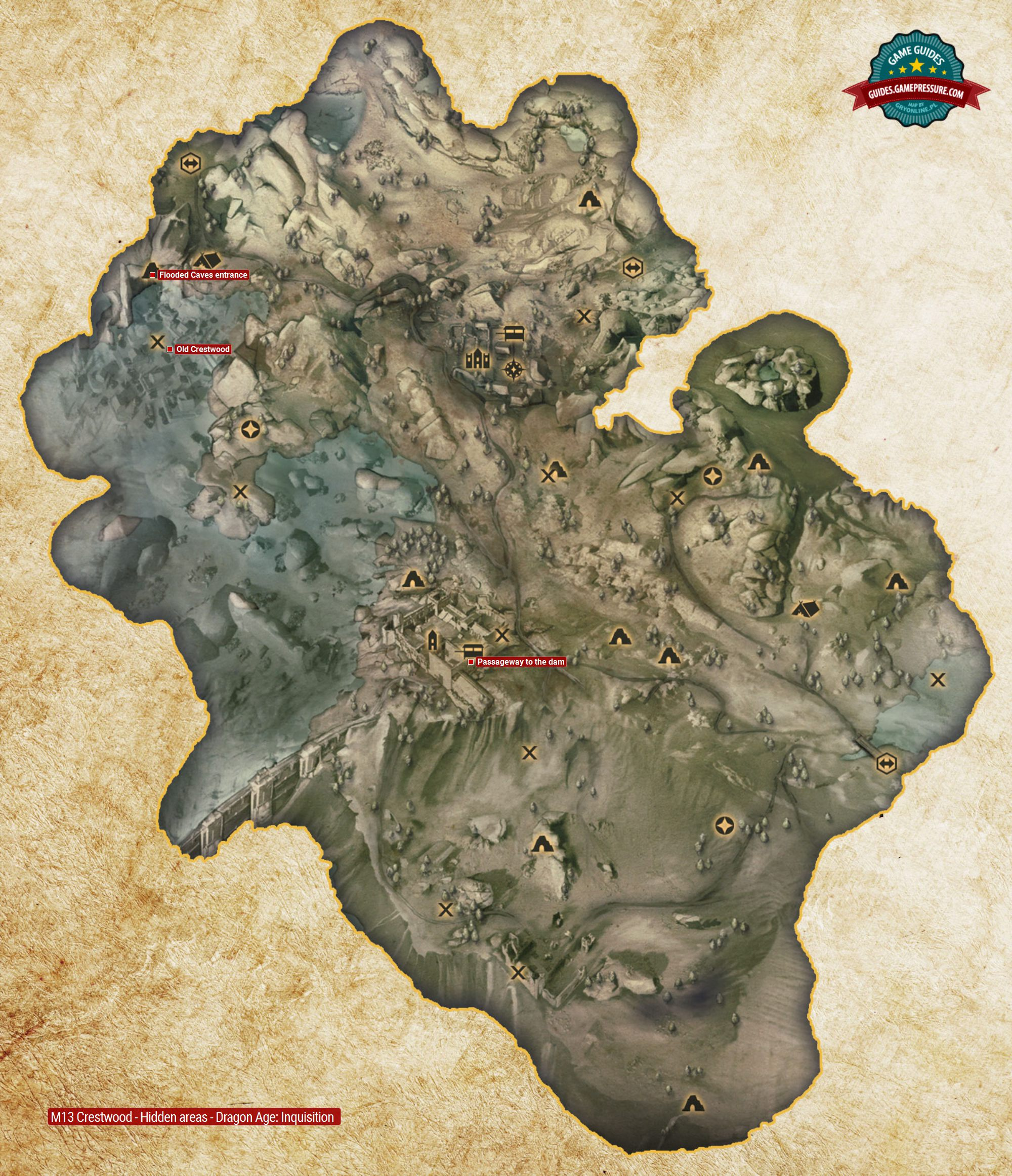 M13 Crestwood - Hidden areas - Dragon Age: Inquisition