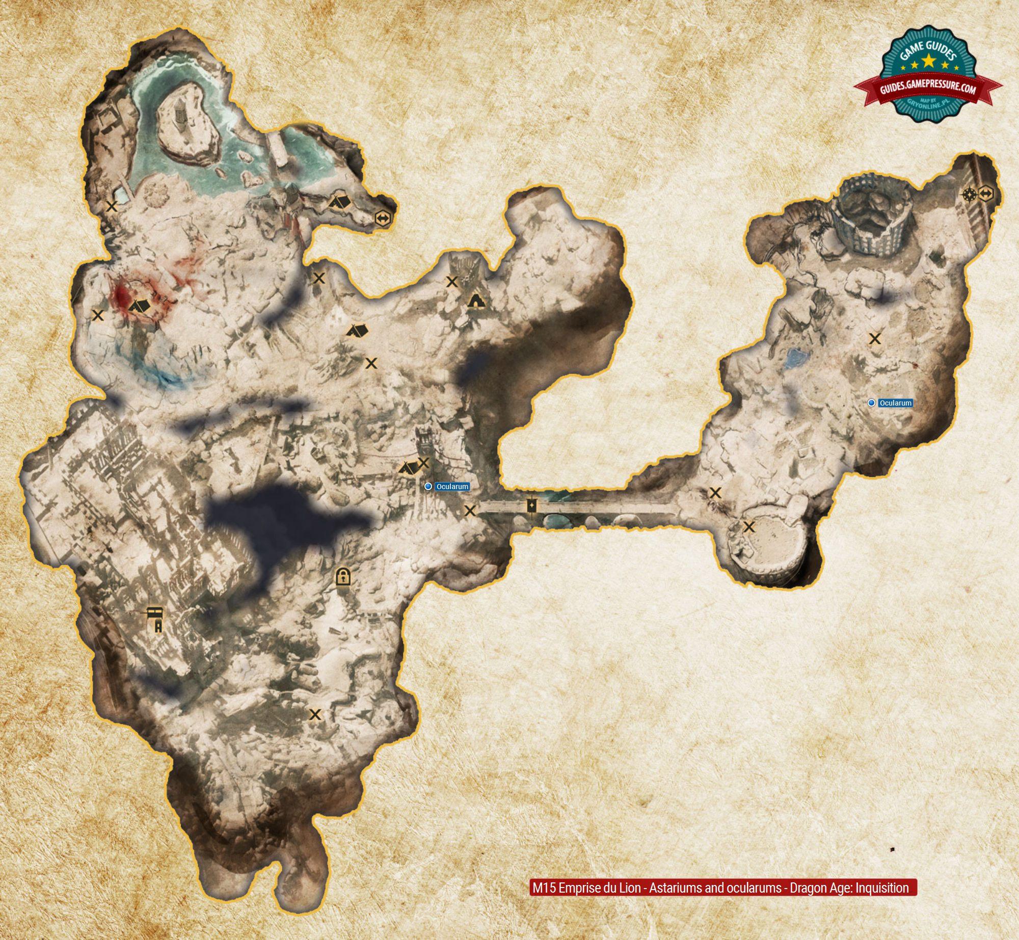 M15 Emprise du Lion - Astariums and ocularums - Dragon Age: Inquisition ...