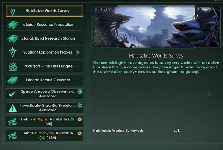 Interface in Stellaris - Stellaris Guide   gamepressure com