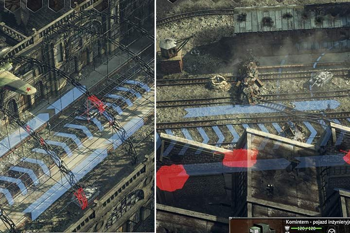 You can save yourself many problems by sending a bomber in the right place, at a right angle. - Mission 7 - Battle of Berlin | Soviet | Campaign - Soviet - Sudden Strike 4 Game Guide