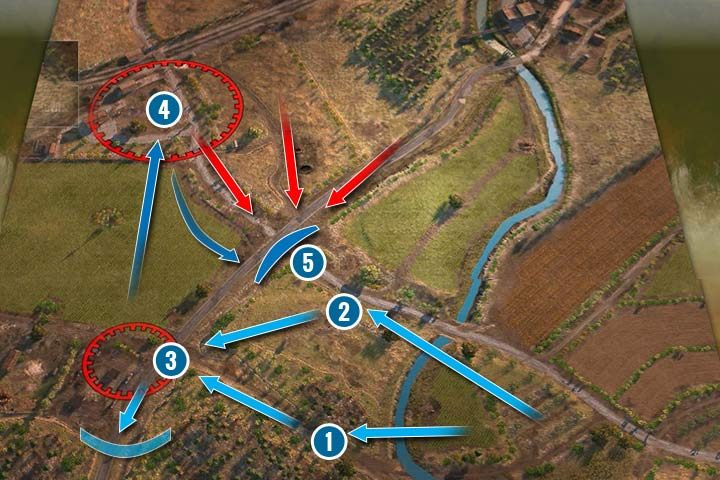 You will start the mission with a large squad but the vehicles will soon run out of fuel - Battle of France | German| Campaign - German - Sudden Strike 4 Game Guide
