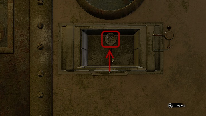 If you already have the seaweed (you could have collected it the previous visit), zoom in on the device that opened asking for iodine - Load iodine into the airlock | Chapter six | Walkthrough - Chapter six - Syberia 3 Game Guide