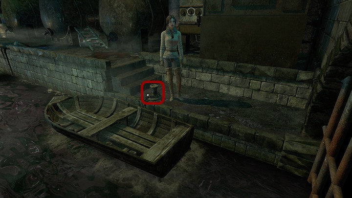 The boat is flimsy, but should survive a short journey - Use the boat to make your way to Jukolia | Chapter one | Walkthrough - Chapter one - Syberia 3 Game Guide