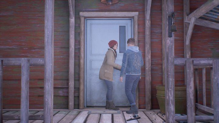 Давайте начнем с того факта, что нет смысла исследовать местность, пока вы не осмотрите дверь - Скажи мне, почему: прохождение входа в дом - Глава 1 Возвращение домой - Скажи мне, почему Руководство, Прохождение