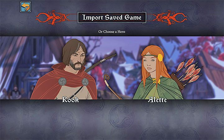 You can import saves right after starting the campaign in The Banner Saga 3 - right after you see the screen presented above - The Banner Saga 3 Game Guide