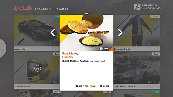 How to get Crew Credits (CC - the alternate currency) in The Crew 2