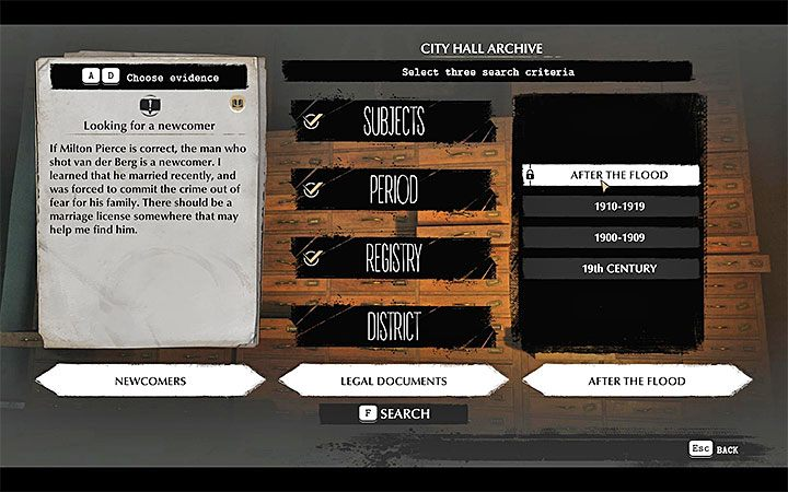 This step is mandatory, regardless of whether you have visited Agatha or not - Self-Defense | The Sinking City walkthrough - Main cases - The Sinking City Guide