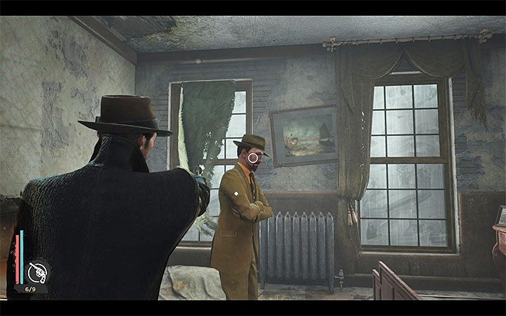 Return to Devils Reef Hotel and head upstairs to a room rented by Reed - Self-Defense | The Sinking City walkthrough - Main cases - The Sinking City Guide